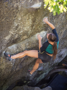 Coffee Cup v9 Leavenworth, WA © LT11 One of the exact moves I struggled at